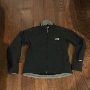 The North Face black grey Apex zip up jacket XS